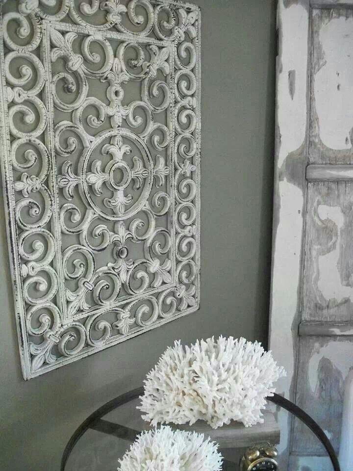 Geschilderde rubber deurmat