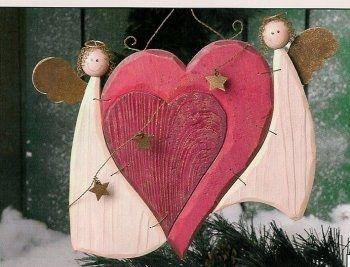 Mon bricolage : le bois (scie à chantourner) - Noel, anges