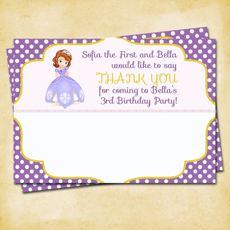 205 Best Sofia The First Birthday Images On Pinterest Birthday