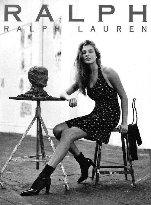 early 90s Ralph Lauren, Bridget Hall