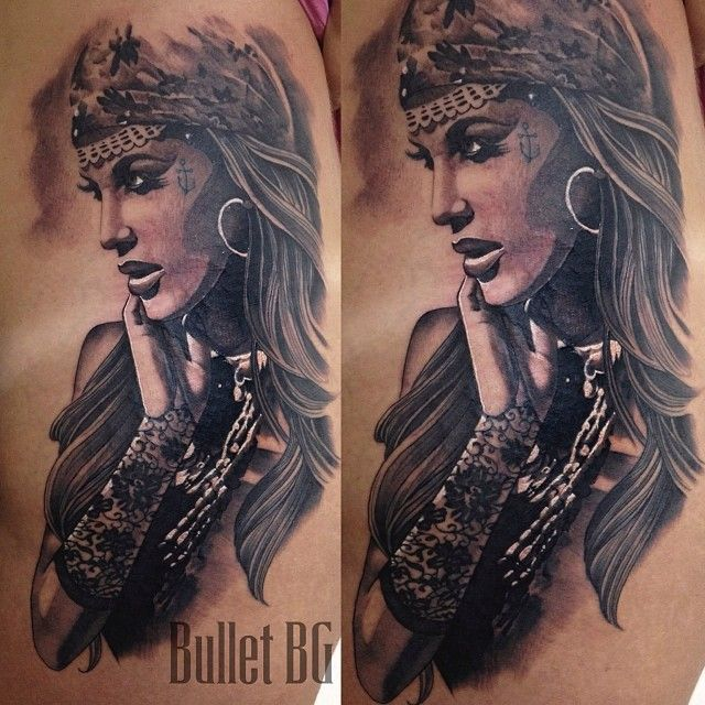 17 Best Ideas About Gypsy Girl Tattoos On Pinterest