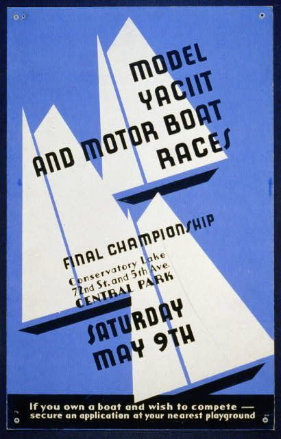 Model yacht and motor boat races Final championship, Conservatory Lake 72nd St. and 5th Ave., Central Park.