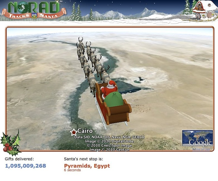 Norad - Santa fin Tracking - this is great for the kids to check on Santa fins  location & progress! #ArgosPerfectChristmas