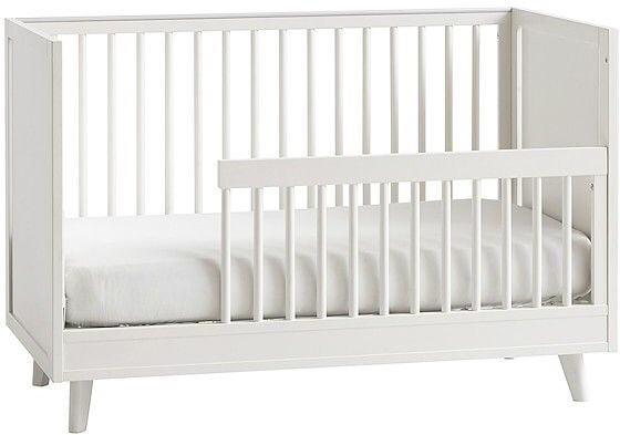 Reese Toddler Bed Ck Water Based Simply White With