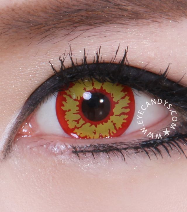 Amazing freaky Halloween colored contacts. Shop early & save with Free Worldwide Shipping! http://www.eyecandys.com/cosplay-halloween-contact-lenses/