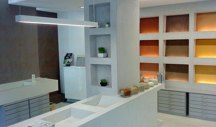 KOURASANIT Ioannina #Kourasanit #WhenNatureDecorates #interiordesign #architecture #renovation #chic #offices #work #workplace #showroom