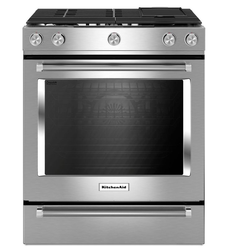30inch 5burner dual fuel convection slidein range with baking drawer