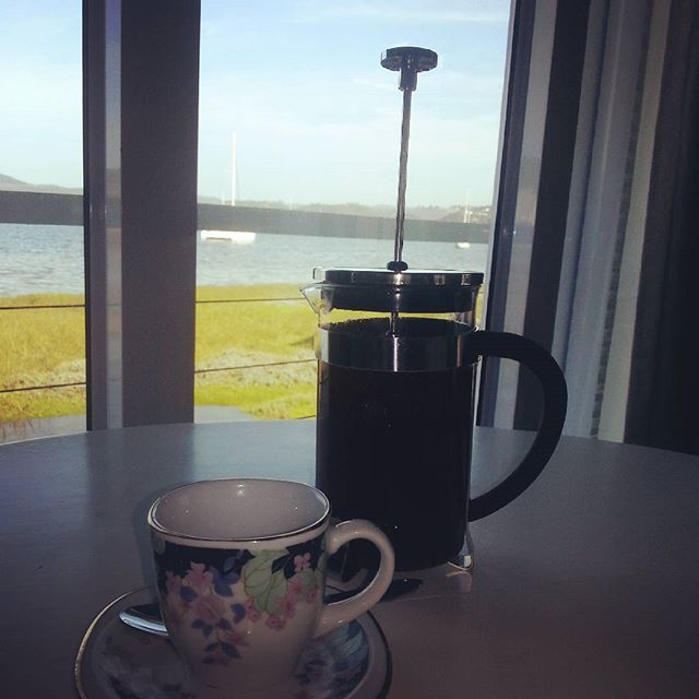Best way to start your Monday, cup of freshly brewed coffee and a beautiful view! www.thelofts.co.za
