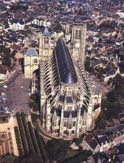 Cathédrale Saint-Etienne. Bourges. Centre