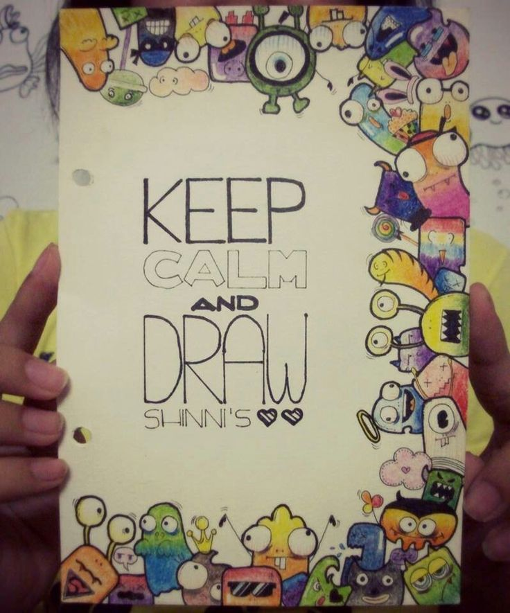 #doodle#monster#keep.calm.and.draw#