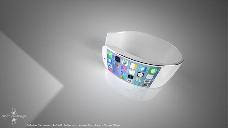 New iWatch Concept Sports Sleek Design