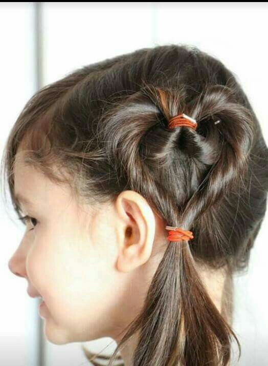Cute updo for kids