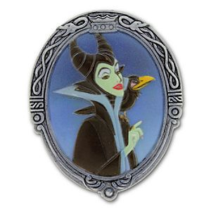 Maleficent PokitPal by Olszewski | Disney Store Cast your little secrets of sorcery into our Maleficent PokitPal by Olszewski. The evil fairy from Walt Disney's classic <i>Sleeping Beauty</i> graces the lid of this pocket keepsake box, which swivels open to hide tiny treasures within.
