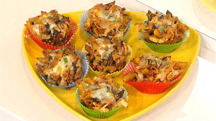 Healthy recipes: Baked ziti-spinach muffins and slow-cooker banana bread - TODAY.com