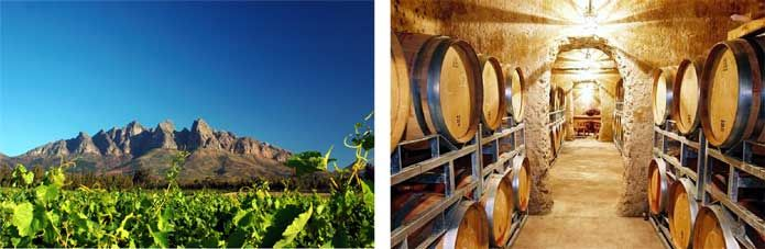 Wellington Wine Route, Cape Town, South Africa