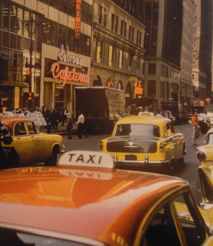 Street Scene, New York City, 1957