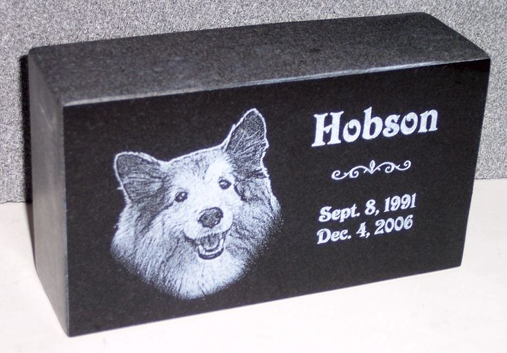 Photo Gallery of StoneArtUSA custom made memorial stones & cremation urns for pets.