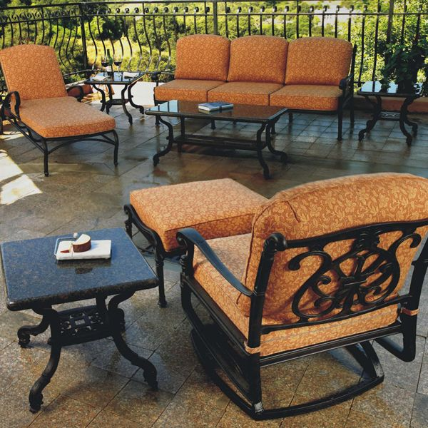 Florence Deep Seating. Cast Aluminum Patio FurnitureDining ...