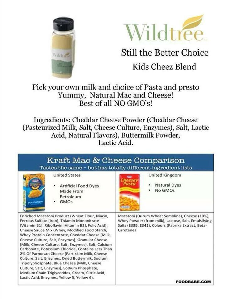 Makes you think! Wildtree Kids Cheez Blend So much healthier! http://www.mywildtree.com/cookinghealthywithsuzanne
