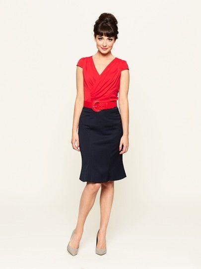 The Hampton Top & Lynnette Skirt