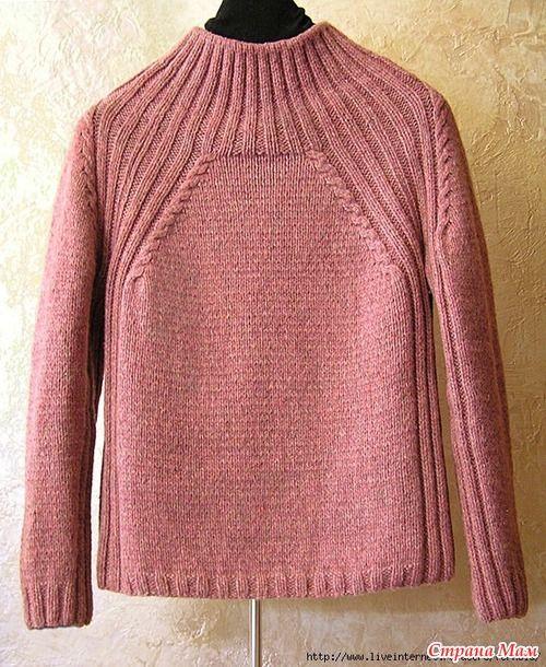 . Пуловер - Вязание - Страна Мам
