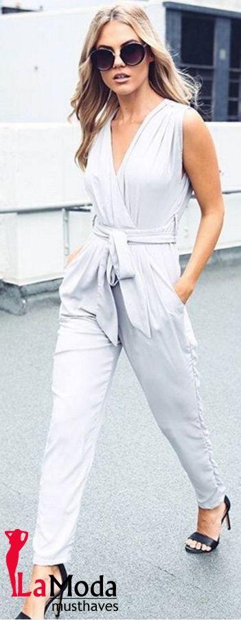 Romper Jumpsuit Clubwear Bodycon Women Playsuit Trousers Party Pants Ladies  Sleeveless Short Casual Hot Bodysuit Long Us Womens Sleeve Slim. 5485bcc315