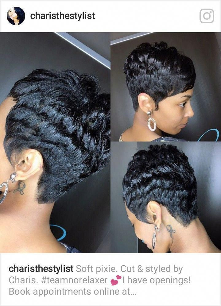 Hair Color Easy To Do Hairstyles Ghetto Hairstyles 20190412 Hair Styles Short Hair Styles Short Sassy Hair
