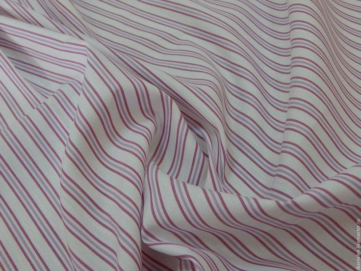 Купить или заказать Ткань итальянская, Рубашечный хлопок (2) в интернет-магазине на Ярмарке Мастеров. Рубашечный хлопок (2), Италия Состав 97% хлопок, 3% эластан Ширина 150 см Цена 700 рублей Итальянская хлопковая ткань. Мягкая, легкая, хорошо тянется.