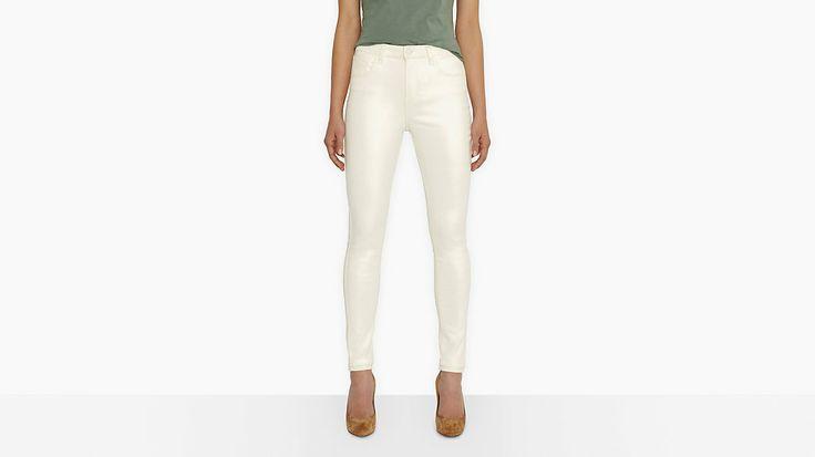 Hvide jeans Levis 999 kr.