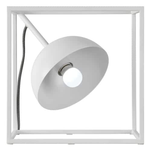 Ren Wil LPT675 Tribute Square 1 Light 12 Tall Accent Table Lamp, White