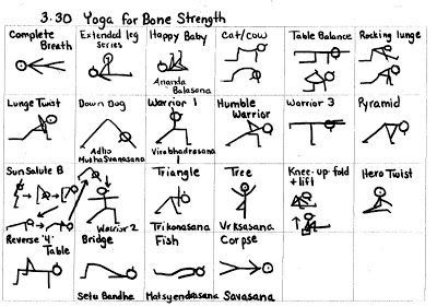 Yogi Sticks: 3-30 Bone Strength and 4-4 Evening Routine