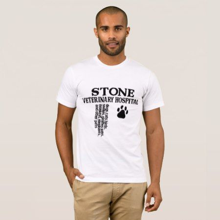 Stone Veterinary Hospital T-Shirt - tap, personalize, buy right now!