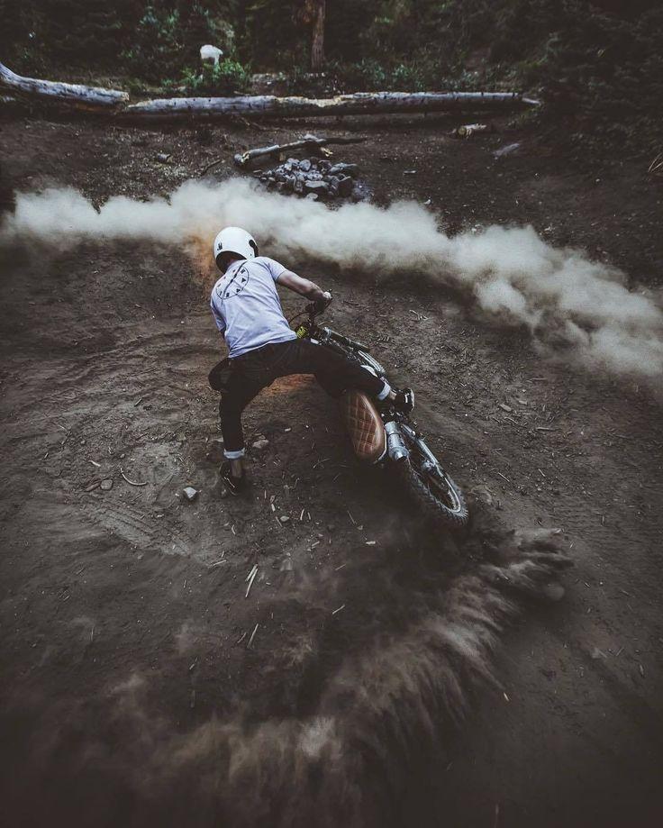 Aaron Brimhall #motorcycles #scrambler #motos | caferacerpasion.com