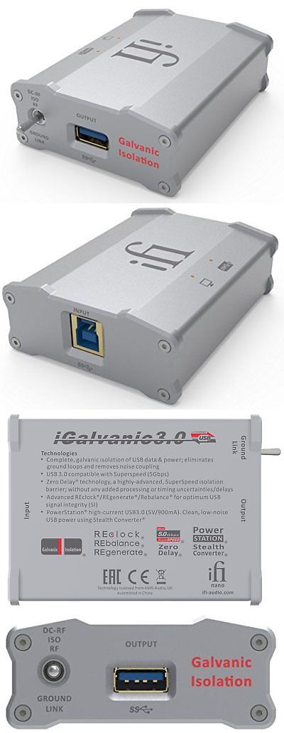 Equalizers: Nano Igalvanic3.0 With Galvanic Isolation For Usb 3.0 -> BUY IT NOW ONLY: $422.88 on eBay!
