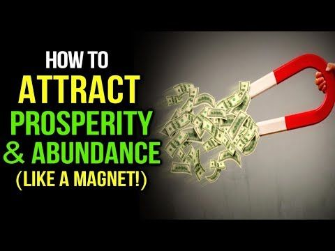 How to Attract PROSPERITY MONEY & ABUNDANCE with t…