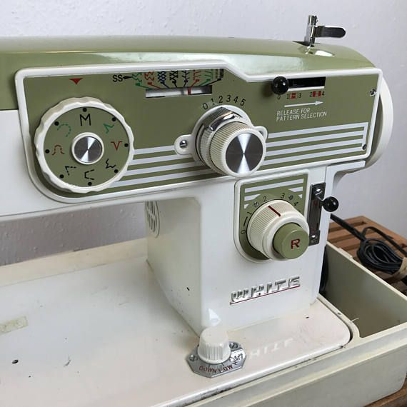 White Sewing Machine / Domestic Sewing Machine / Fixer-Upper