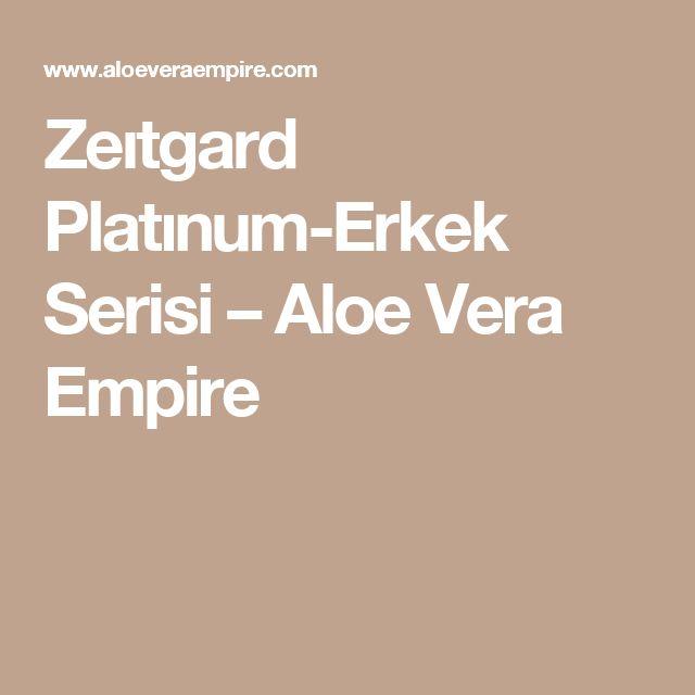 Zeıtgard Platınum-Erkek Serisi – Aloe Vera Empire