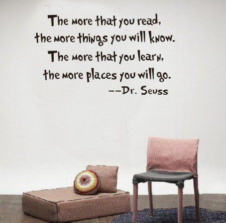 Best Dr Seuss Quotes Images On Pinterest - Dr seuss nursery wall decals