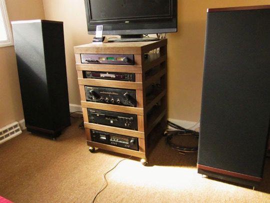 Best Solution For Home Audio Room Equipment Rack