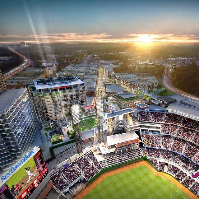Suntrust Park Coming Spring 2017 See More At Braves Suntrustpark Atlanta Stadium Baseball