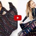 Alucinante vestido de diosa de Jennifer Lopez, ¡wow! ¡Qué belleza!