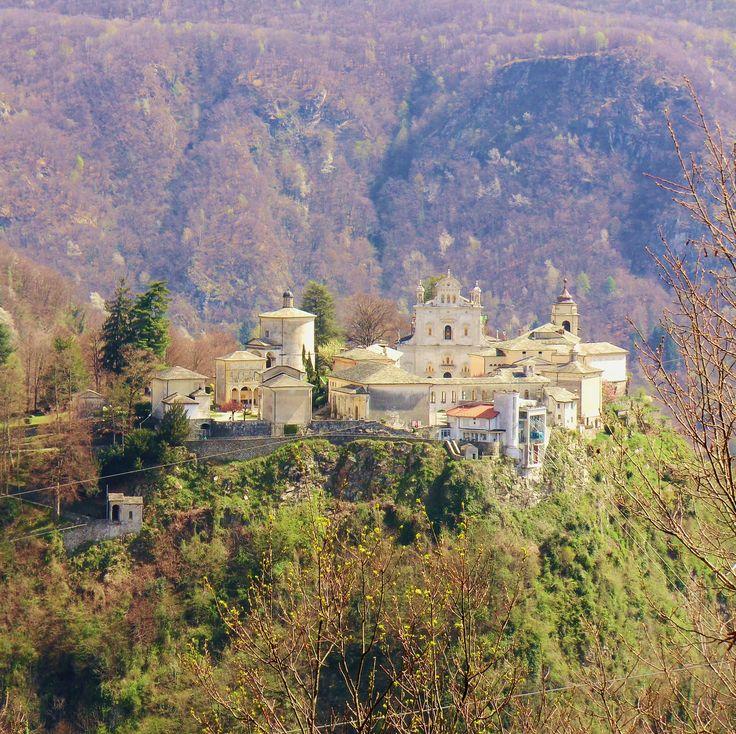 Sacro Monte di Varallo visto dal monte Vaso #sacrimontisocial UNESCO