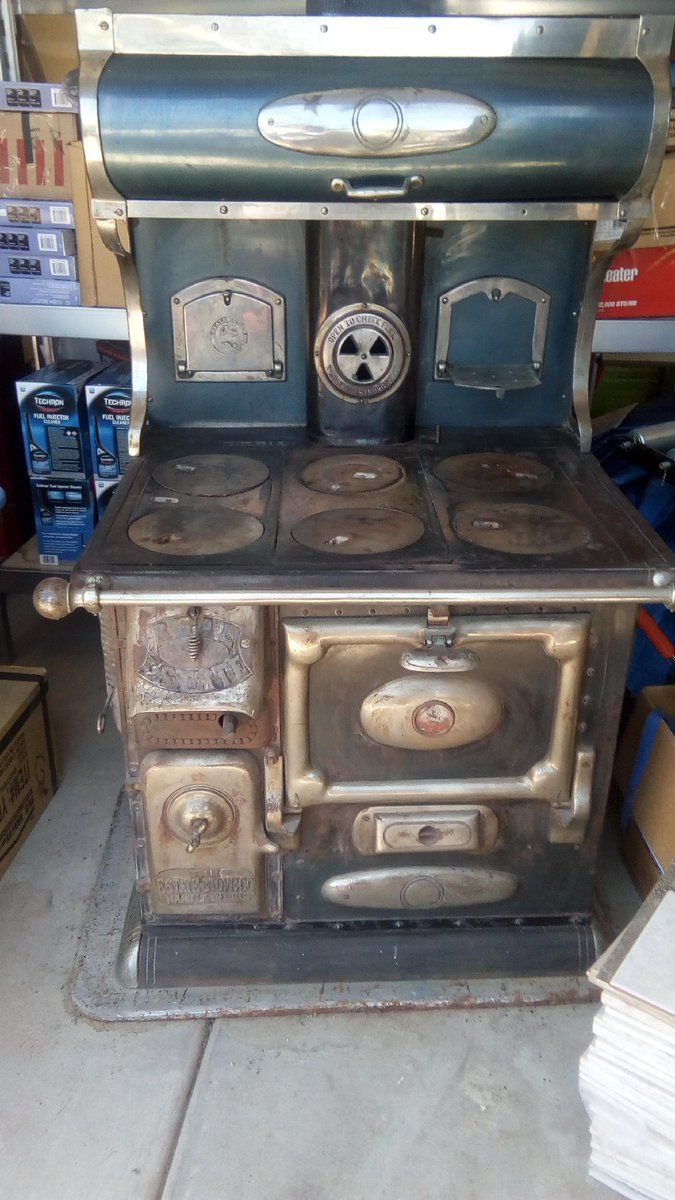 #Antique #CastIron wood, coal #stove from 1912. #Collectibles / Art - #SaratogaSprings, UT at #Geebo