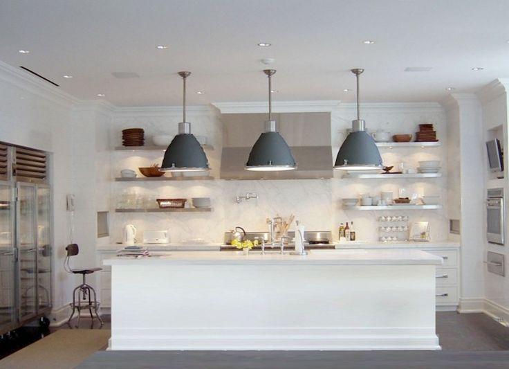 Katch ID Gorgeous modern kitchen design with creamy white shaker