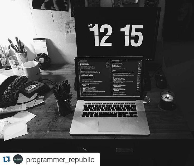 @programmer_republic posted: #repost awesome shot!  by @thecodeness  Hey ho it feels like summer. I missed this setup (especially the #razer gaming mouse shoutout to my #worldofwarcraft days) 280516  #developer #programming #programmer #csharp #java #javascript #code #coding #visualstudio #microsoft #macbookpro #ibm #rubyonrails #php #eatsleepcoderepeat #stackoverflow #python #sotwareengineer #reactjs #mongodb #angularjs #webdevelopment #html5 #css3 #workhard #github by worldcode