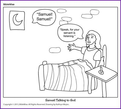 christian coloring pages of samuel - photo#16