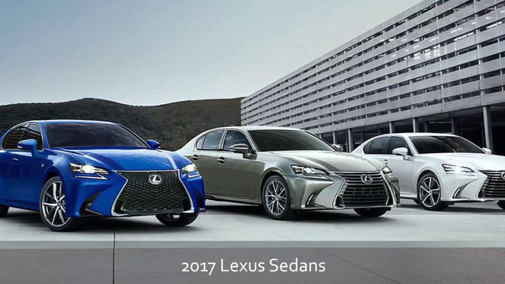 2017 Lexus Sedans from McGrath Lexus of Chicago Serving Cicero Oak Park and Berwyn IL!