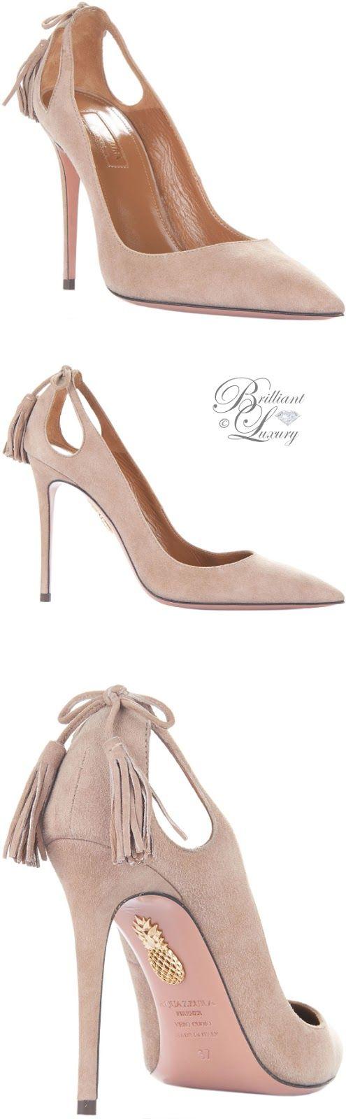 Brilliant Luxury by Emmy DE ♦ Aquazzura 'Forever Marilyn' Pumps