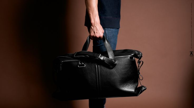 Atelier Double Take Holdall from hard graft