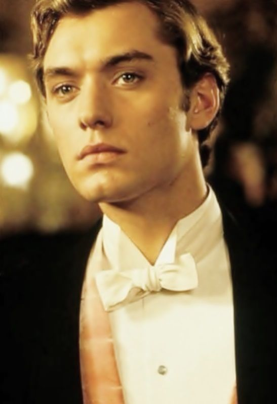 "Jude Law - As Lord Alfred ""Bosie"" Douglas, in Wilde."